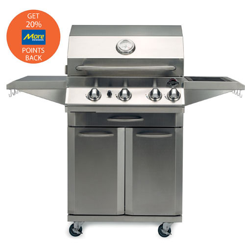 Jackson Grills LUX Series 550 Propane Gas Pedestal Grill