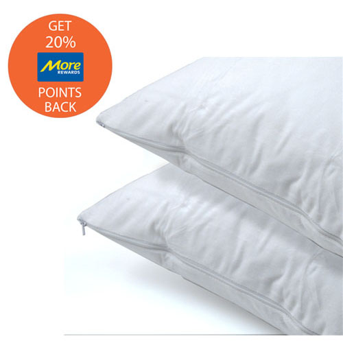 Daniadown 2 Pack Queen Cotton Pillow Protectors