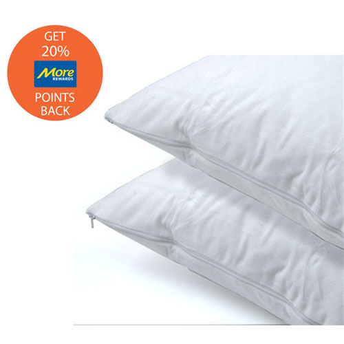 Daniadown 2-Pack Cotton Pillow Protectors - King