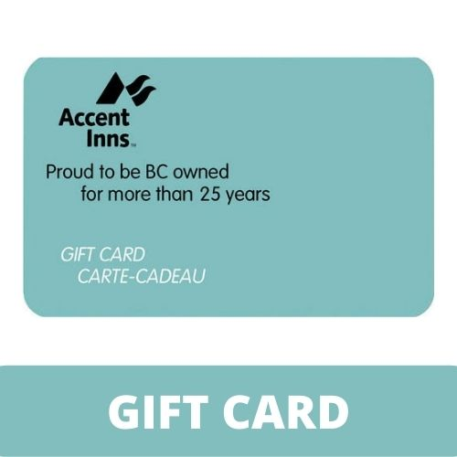 Accent Inns $75 Gift Card